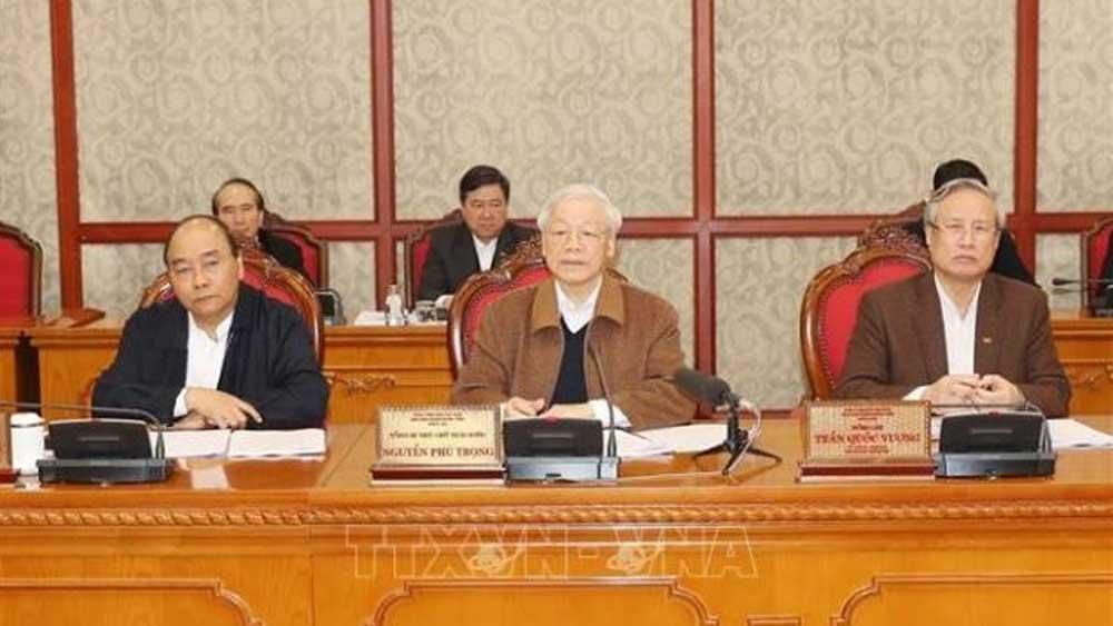 Kết luận của Bộ Chính trị về chủ trương khắc phục tác động của dịch Covid-19